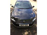 VW Passat reg: 14 Private hire (renfrewshire council plate )
