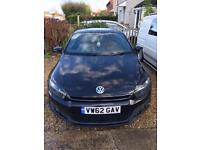 VW Scirocco 2.0 TDI Bluemotion £30 Tax Full Leather Private Plate