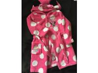 Minnie Mouse dressing gown age 12-18 months