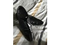 Black Patent leather shoes size 11