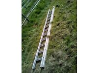 extension 2 section ladder 2 x 2.8 m