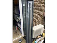 Double glazed frosted window