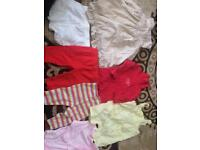 Girl clothes (3-6 months )