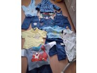 Bundle of baby boys clothes 6/9 months 12.00
