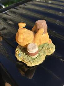 Winnie the Pooh figurines ornaments