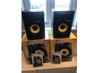 KRK Rokit 6 Speakers G3 x 2, boxed, as new