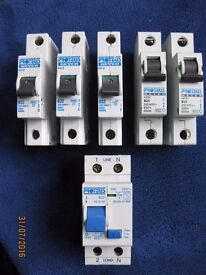 Proteus MCBs and RCD
