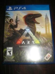 Ark: Survival Evolved For PS4 Game System. Action Adventure survival video game. Aberration.