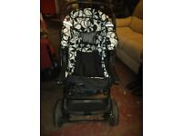 FANTASTIC PUSHCHAIR WITH BABY SEAT INCLUDED - EXCELLENT CONDITION