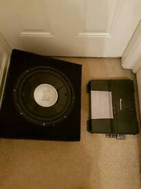 1000w Jbl sub and 760w pioneer amp