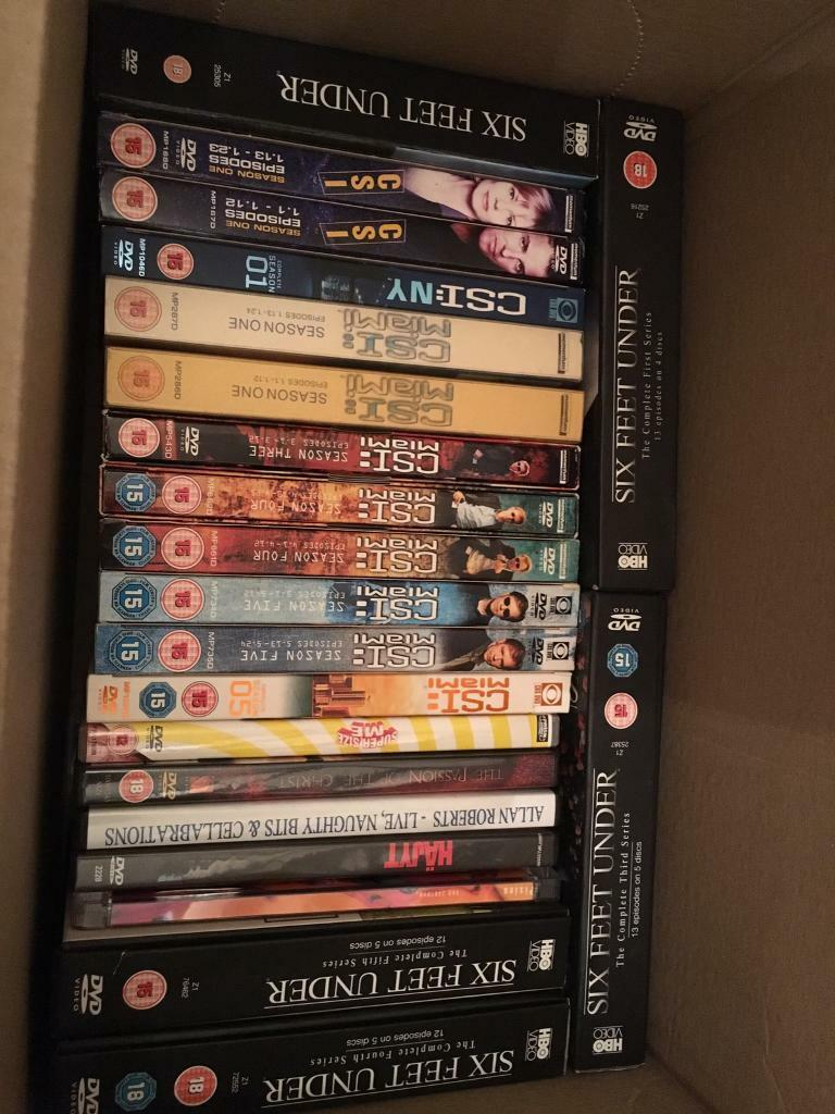Christmas Gift. DVD collection job lot | in Shotton Colliery, County ...
