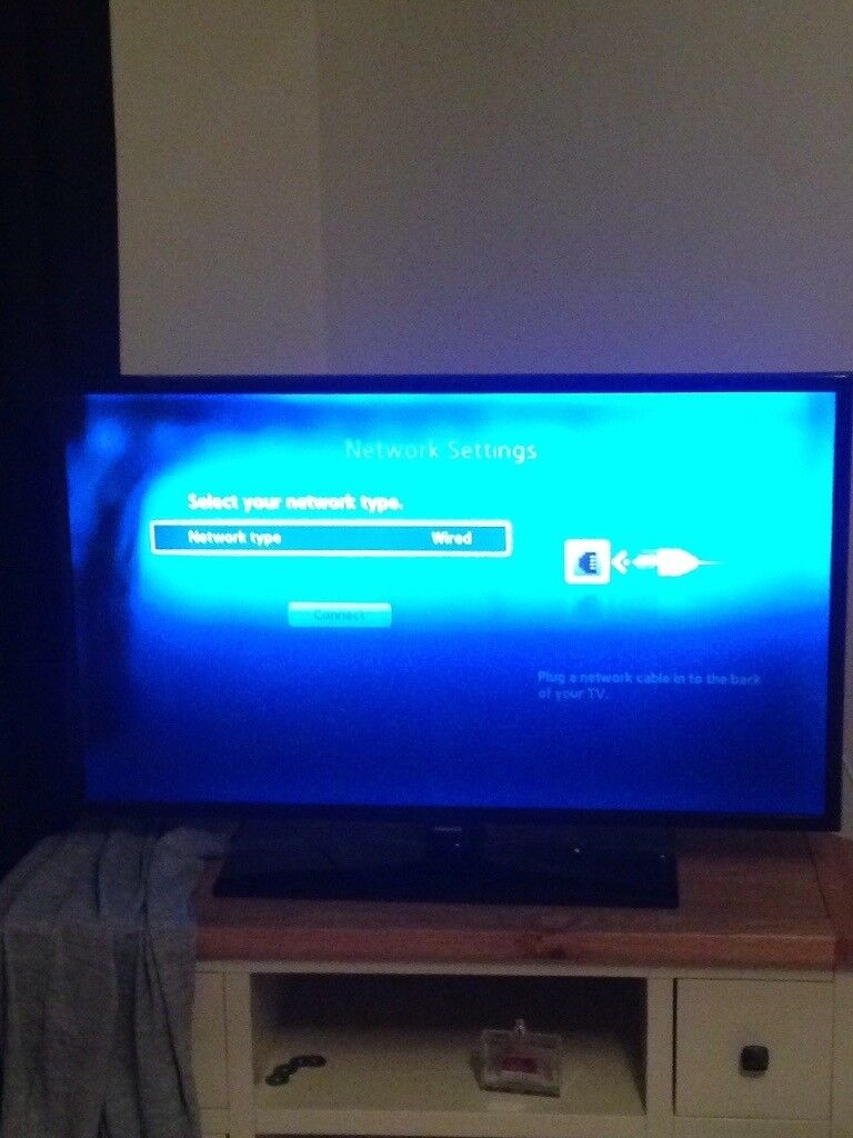 Samsung Smart Tv 42 Inch Got Black Line Down Screen Easy Fix In