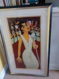 Limited Edition Print signed by artist Marsha Hammel