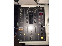 Pioneer DJM-400 DJ mixer with FX controlls. perfect condition, free delivery.