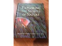 Exploring the secrets of nature hardback book