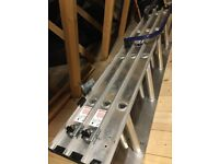 Loft ladder with handrail - Werner spring-assisted 3 section easystow