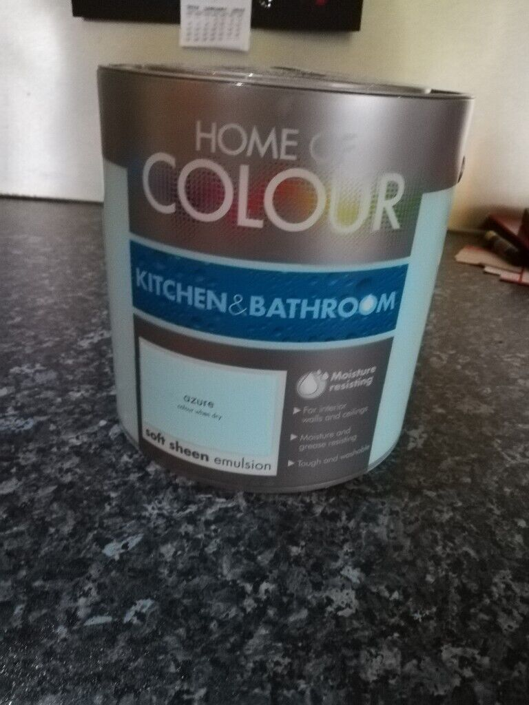 Fine Homebase Kitchen Bathroom Paint 2 5Ltr In Glenrothes Fife Gumtree Download Free Architecture Designs Scobabritishbridgeorg