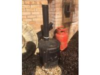 Multi fuel stove (pot bellied type)