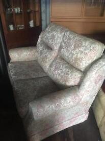 Floral sofa, good condition Kelso