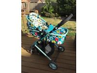 Cosatto Wish Travel System/car seat/iso base
