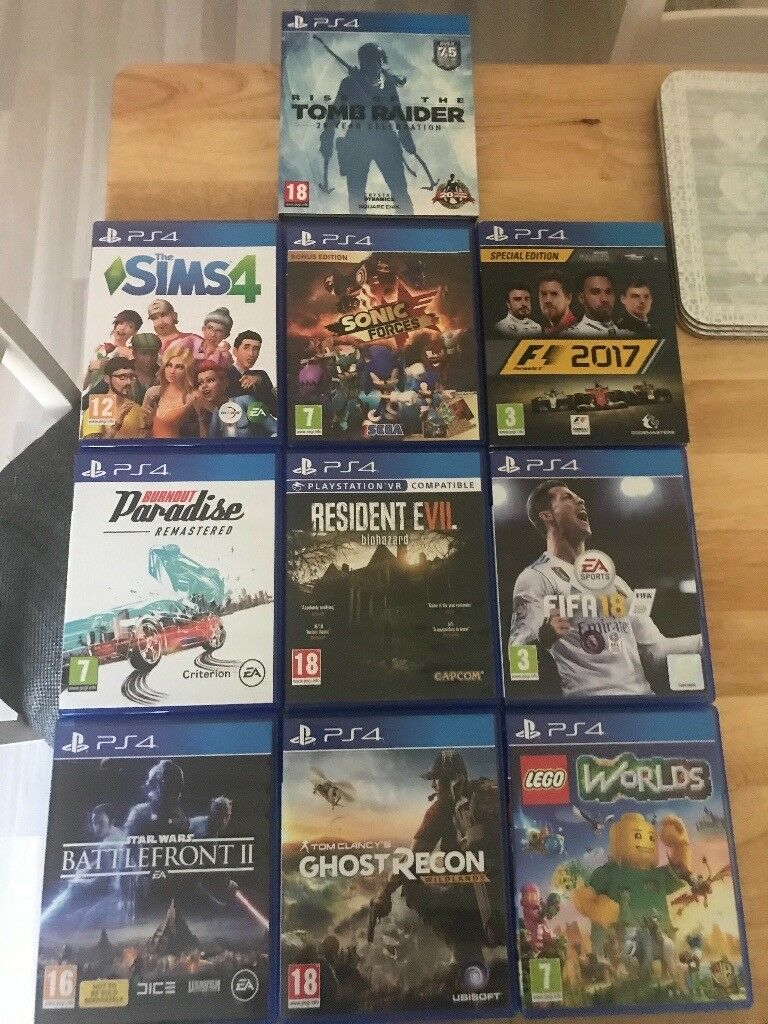 422f64e80fd5 10 Top ps4 Games for sale. Derby ...