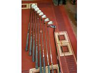 John letters golf clubs irons 3 to pw