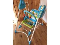 Fisher Price 3 in 1 swing, seat and rocker