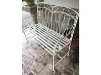 New 2 seater vintage style bench