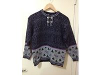New woman's sweater 100% wool size 10 only £15