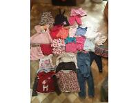Bundle of girls clothes 18-24, 2-3