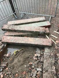 Free concrete steps