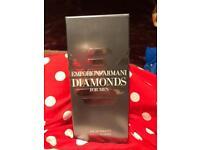 New EMPORIO ARMANI DIAMONDS FOR MEN