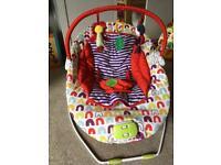 Baby chair musical vibrating Mamas & Papas