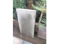 Large concrete coping stone - free to collector