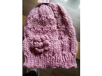 Pink Wooly Hat