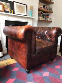 Chesterfield club arm chair - rrp £1,500