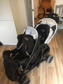 Twin pushchair for sale