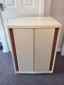 60's Antique Drinks Cabinet