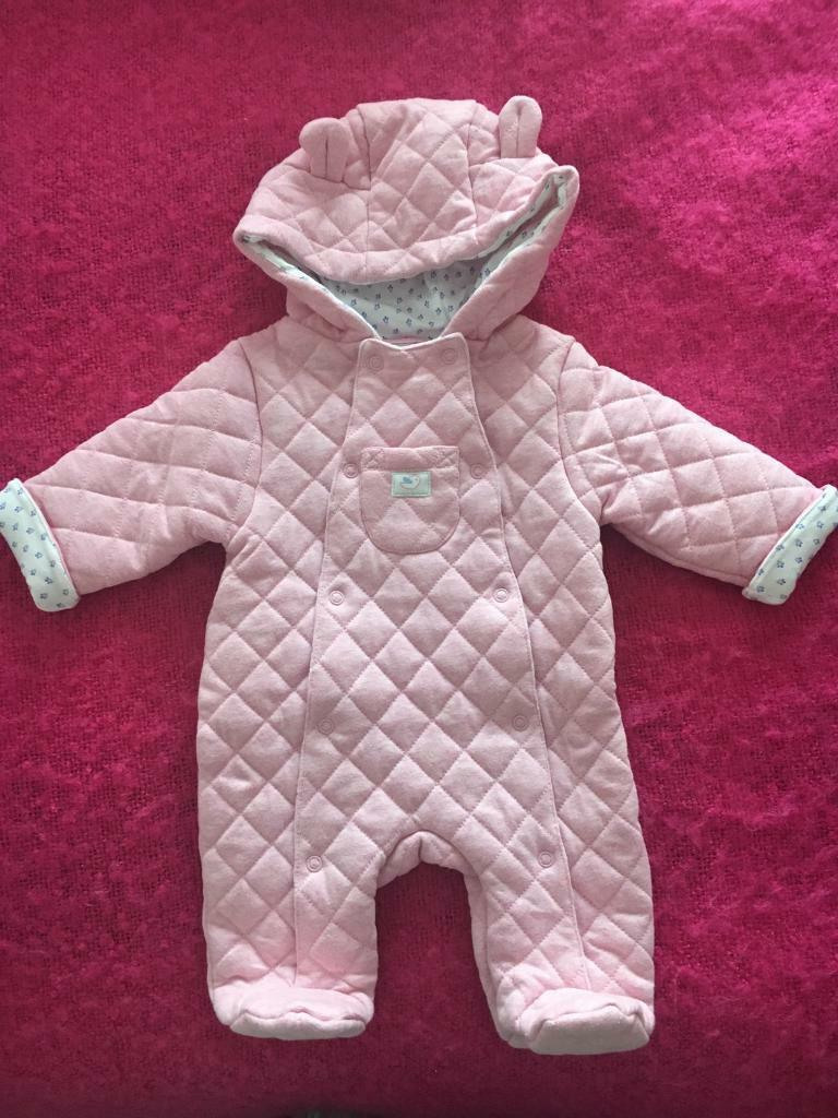 BABY GIRL NEWBORN SNOWSUITin Bridge of Don, AberdeenGumtree - I have items left over from having a stall at a Jack & Jill sale. I have several ads with different baby girls items. Collection Bridge Of Don. All in very good or excellent condition. This is a John Lewis newborn snowsuit, worn once so excellent...