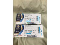 INDIA VS PAKISTAN ICC CHAMPIONS TROPHY ICC TICKETS - STANLEY BARNES UPPER TIER - UNRESTRICTED VIEW