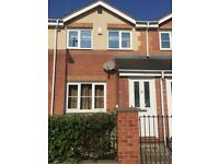 Superb 2 double bedroom new build house..sunny garden.offroad parking .only 2 miles from city center