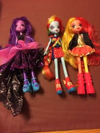 My litte pony dolls