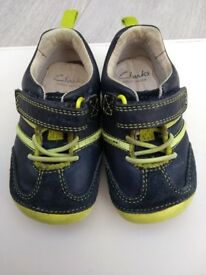 Clarks First Shoes size 4G - excellent condition