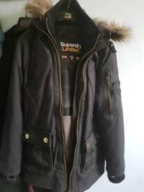 Superdry winter coat