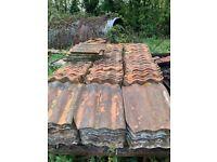 Roman roof tiles