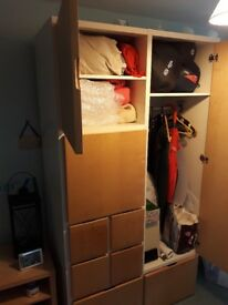 wardrobe in good condition 2m x1.2x.6m