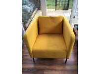 Ikea Ekero Armchair - Skiftebo yellow