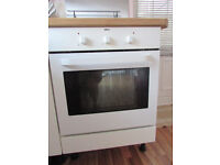 Integrated Zanussi Electric Fan Oven & Diplomat 4 Ring Gas Hob - Used Fully Working