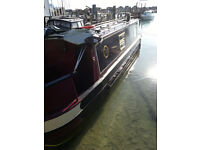 32ft Narrow Boat 1997 Steel Hull - 'Eventide'