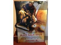Black hawk down Cinema Display poster original